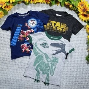 Other - Toddler boy 2t graphic t-shirt bundle
